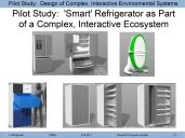 This was the pilot study for my research project. It used the design of a smart home appliance as a proxy for the design of a smart home environment. Methods from human factors and systems engineering were incorporated into a user-centered design approach.
