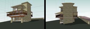 concept stone mountain home