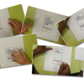 a series of paper prototyping followed